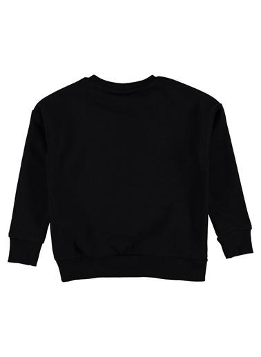Hummel Kız Çocuk Agoptos Sweatshirt 920653-2001 Siyah